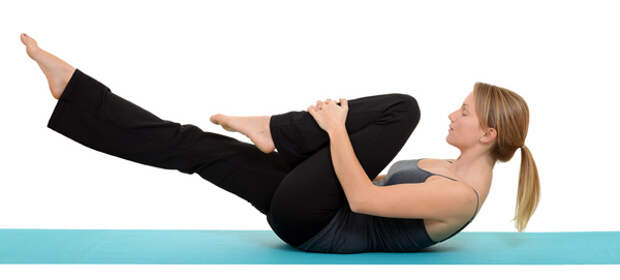 flat belly exercise at home