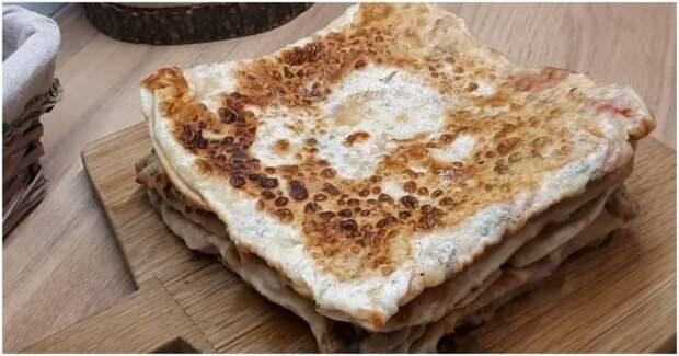 Простой рецепт вкуснейших жареных лепешек