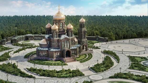 Главный Храм Вооруженных Сил России.
