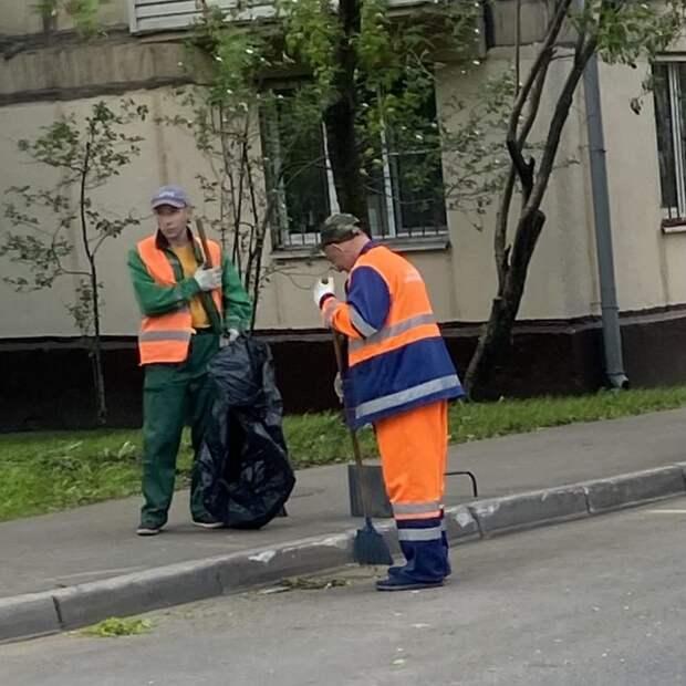 Коммунальщикам из Куркина напомнили о соблюдении графика уборки
