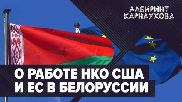 О работе НКО США и ЕС в Белоруссии / Лабиринт Карнаухова