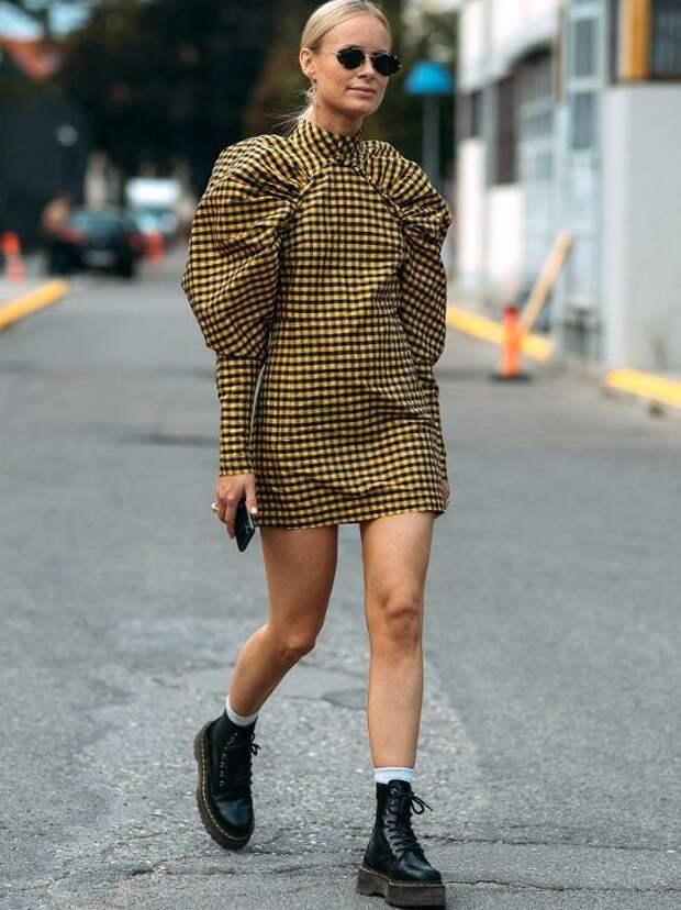 Разбираемся, с какой обувью носить платья осенью, чтобы выглядеть стильно и модно