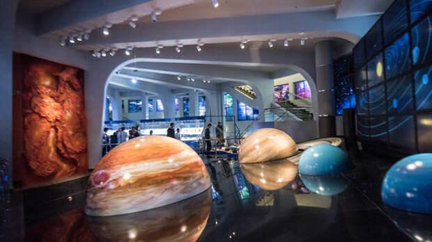 День космонавтики в Московском Планетарии