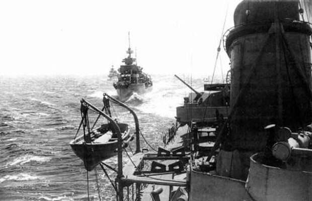 Эсминцы Проекта 7У в походе