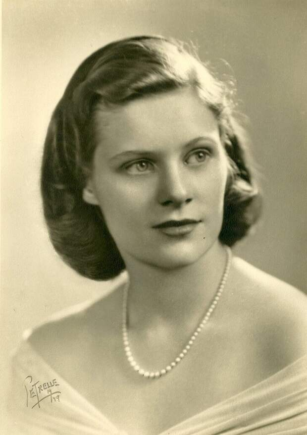 Женщина 1940-х