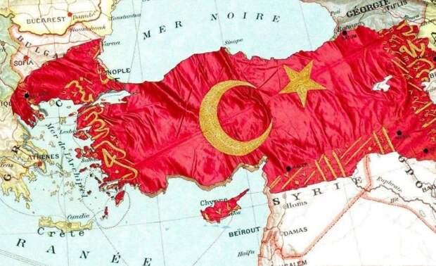 Турция намерена отторгнуть части сопредельных государств