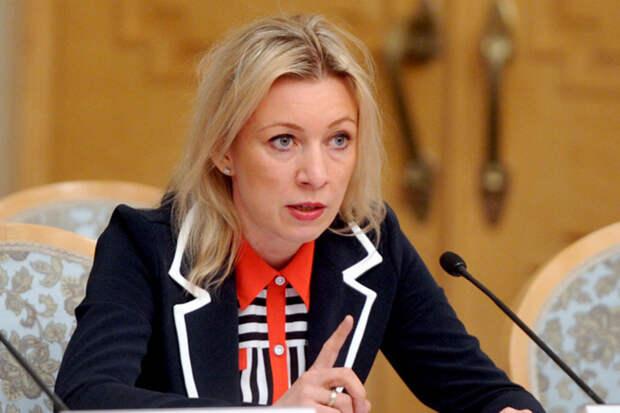 Захарова ответила на заявление советника Порошенко по поводу крушения российского Ту-154