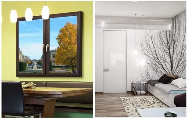 И солнца не надо: 9 шикарных идей для оформления комнаты без окон