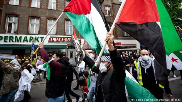 Израильско-палестинский конфликт перетекает на улицы Европы