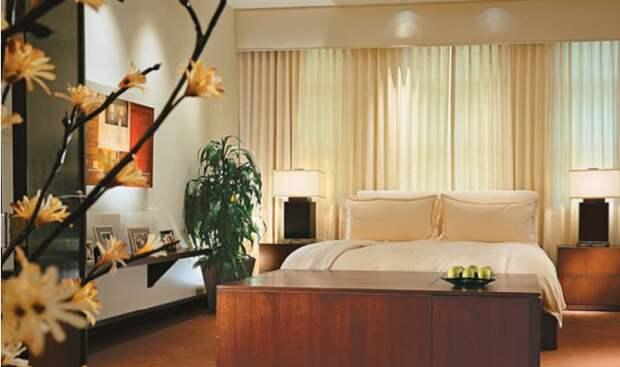 Супружеская спальня звездной четы.   Фото: youtube.com.