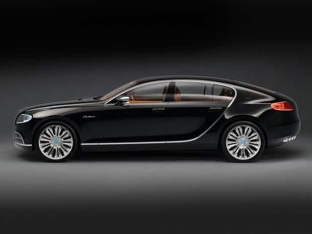 Все-таки хэтчбек: Bugatti Galibier пойдет в серию