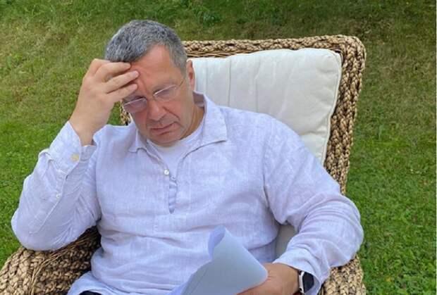 Соловьёв оценил перехваченную Минском запись о Навальном