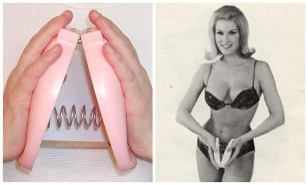 Винтажный чудо-прибор для увеличения груди, в эффект от которого верили сотни тысяч женщин