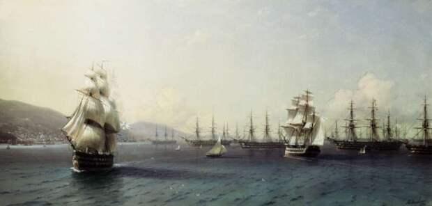 Флот России в Средиземноморье