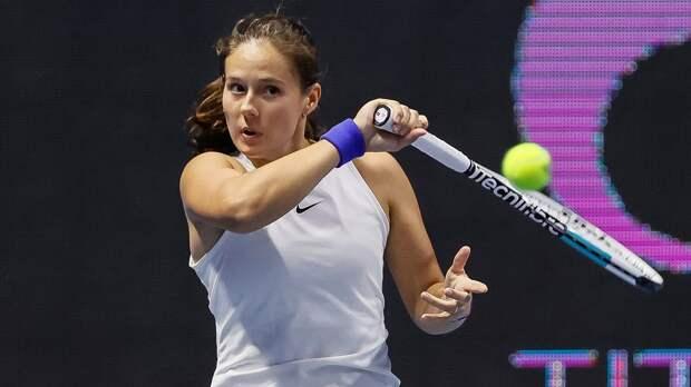 Александрова и Касаткина потеряли по 1 позиции в рейтинге WTA