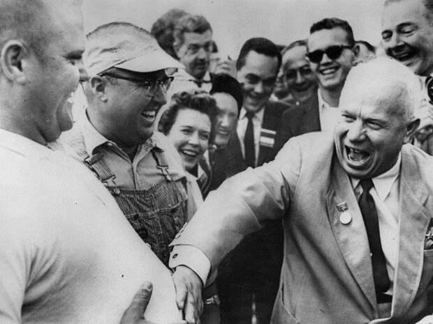 Как Хрущёв Америку посетил