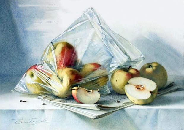 Необыкновенные акварели Елены Базановой