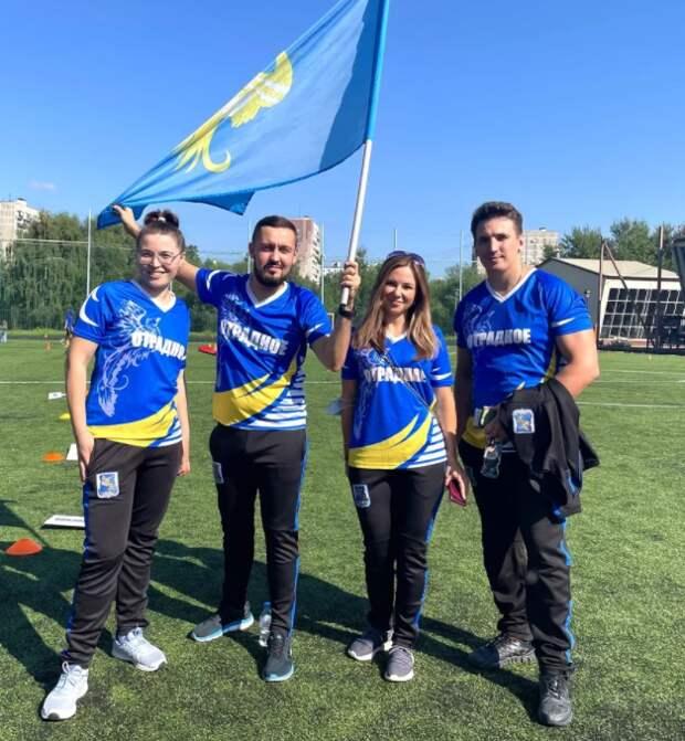 В День физкультурника команда из Отрадного заняла третье место в соревнованиях по дартсу