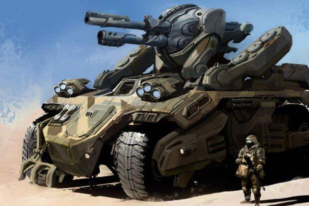 Фантастическое оружие российской армии