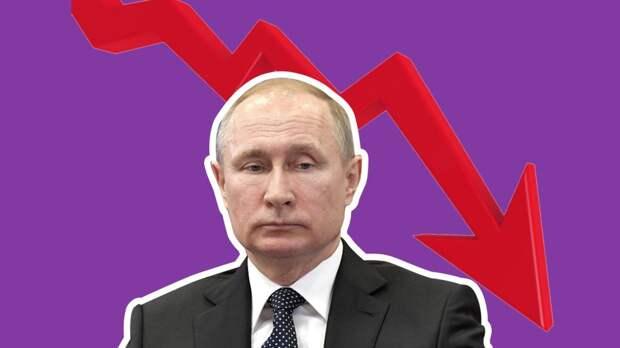 Настоящее чудо: как с утра рейтинг Путина упал, но вечером вновь вырос