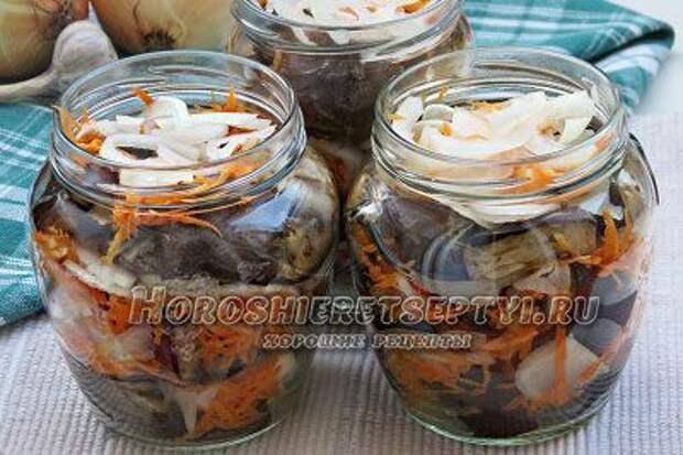 Маринованные баклажаны на зиму