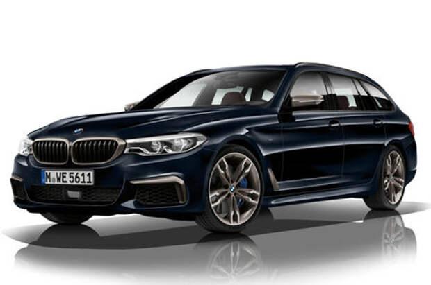 Впервые: BMW представила «пятерку» с четырьмя турбонагнетателями