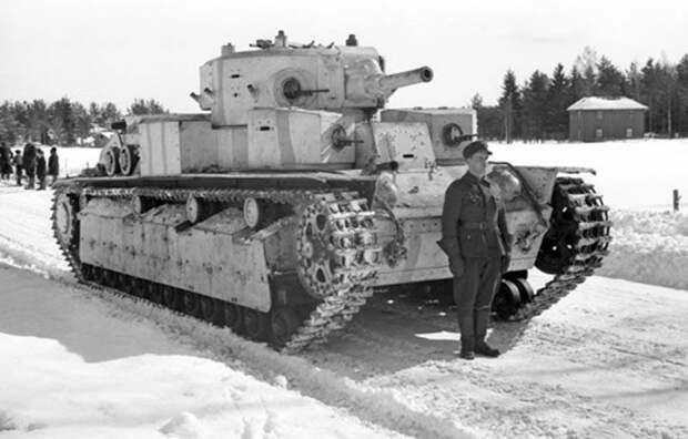 Как советские танки оказались в финской армии: повествование о Т-28
