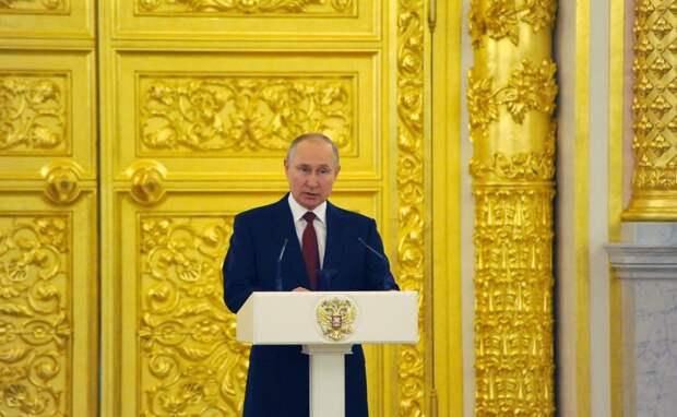 Путин выступит напредстоящем съезде «Единой России»
