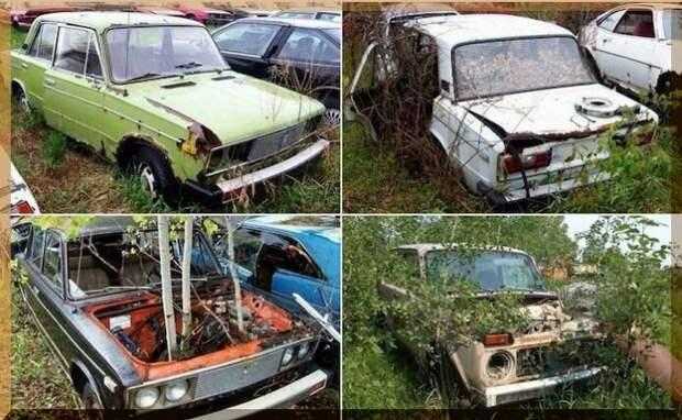 Необычные «музеи-кладбища» советских автомобилей в России, Канаде, Англии, Финляндии
