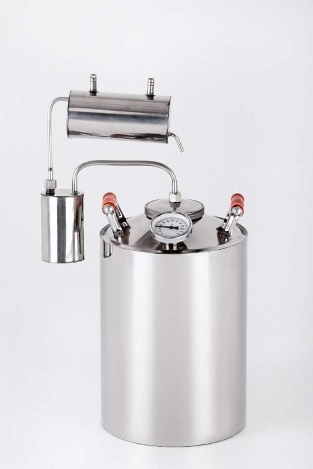 """Самогонный аппарат """"Магарыч Премиум"""" с сухопарником и проточный холодильником еда, самогон, своими руками, сделай сам, спиртные напитки"""