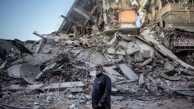 Последствия израильских воздушных ударов в Газе - РИА Новости, 1920, 14.05.2021