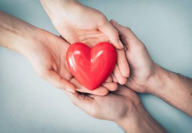 Сердце, Фигура, Руки, Символ Сердца, Красное Сердце