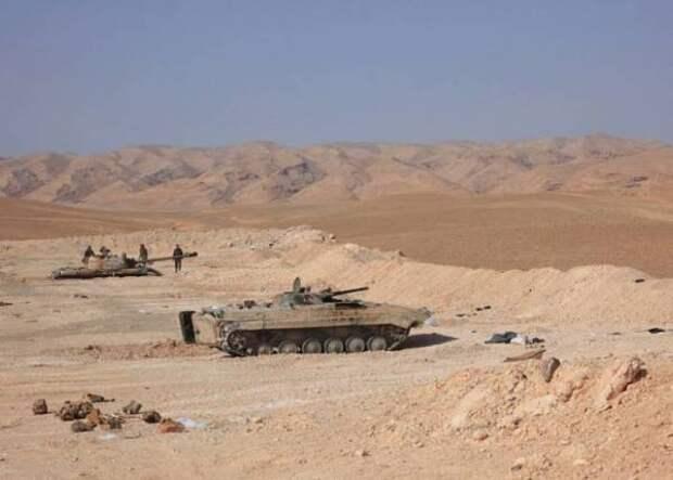 ИГИЛ огрызается вылазками: сирийская армия проводит масштабную операцию