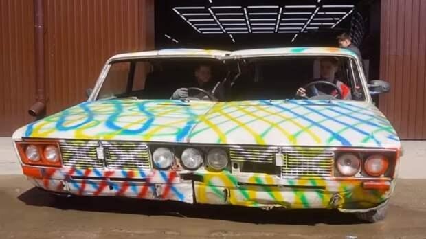 В России создали самые широкие «Жигули» ВАЗ-2106