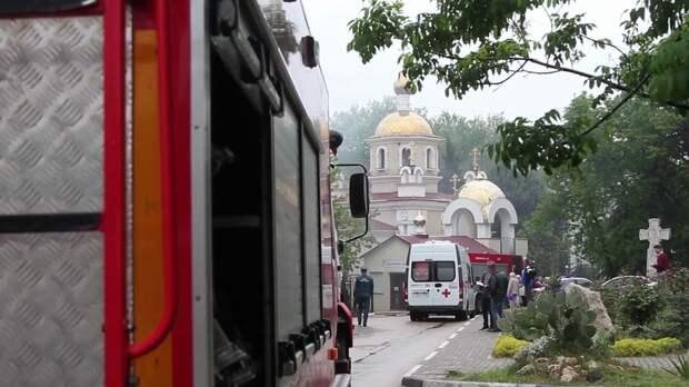 Пожар разгорелся в одном из храмов Севастополя