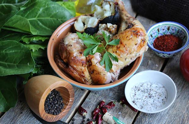 Курица в сметанном маринаде: самый вкусный способ