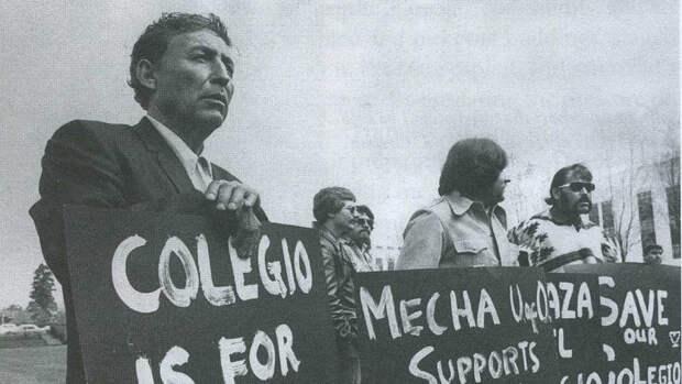 Демонстрация чикано