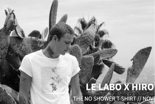Дизайнерские футболки с ароматом дорогого парфюма от Hiro Clark и Le Labo