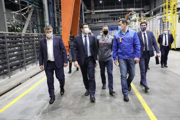 В особой экономической зоне «Кулибин» запущено первое производство
