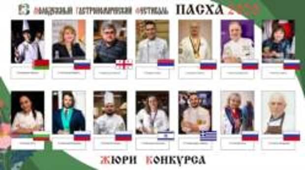 13-й Международный молодежный гастрономический фестиваль «Возрождаем традиции. Пасха» завершил свою работу