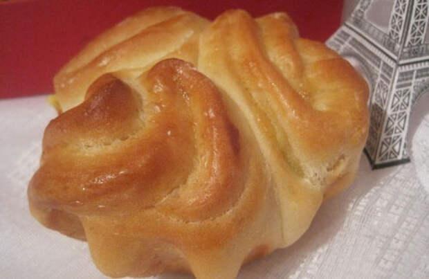 Французская булочка с кремом вас покорит!