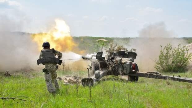 Бойцы ВСУ разместили зенитные установки на линии соприкосновения вДонбассе