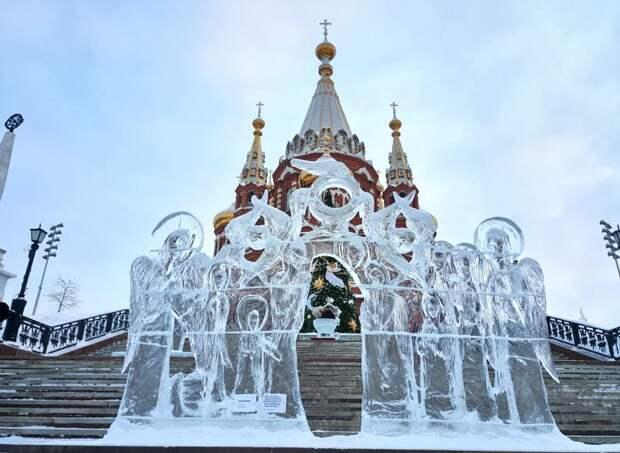 Искусство и вера: ледовый фестиваль ангелов и архангелов вновь пройдет в Ижевске