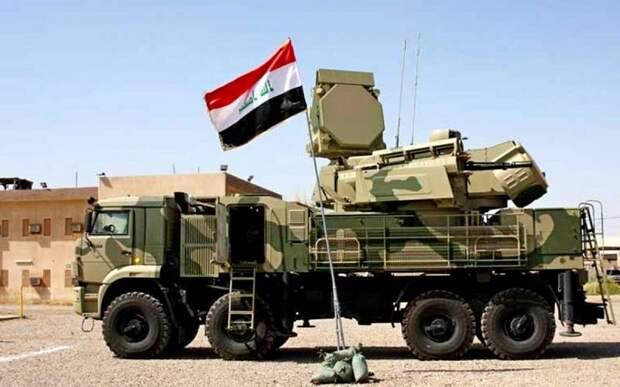 Российский ЗРК «Панцирь-С1» взят на охрану американской базы в Ираке