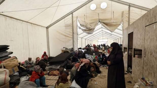 В ООН обратили внимание на вспышку COVID-19 в сирийском лагере беженцев Аль-Хол