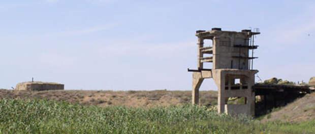 Капустин Яр. Останки стенда и бункера 56 лет спустя