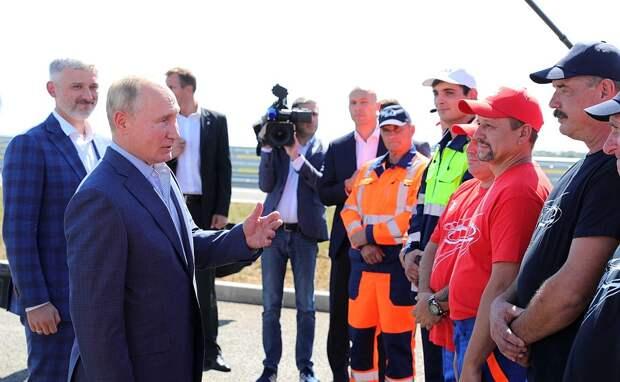 Путин поможет в решении проблем с водой в Крыму