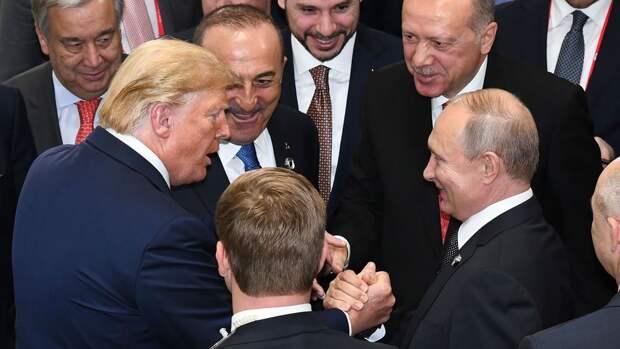Центр исследований выявил степень доверия Путину и Трампу в развитых странах