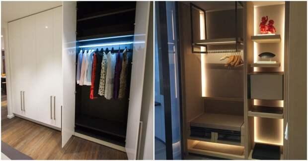 Практичные идеи для комфорта: светодиодная подсветка в вашем шкафу