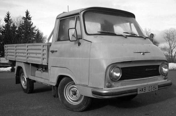 Донором агрегатов и узлов для «Снаги» стал однотипный автомобиль Skoda 1203 ЗАЗ-2301, авто, автомобили, грузовик, заз, запорожец, прототип, разработки